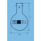 Narrow neck round bottom flask 100ml